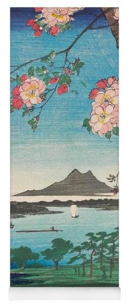 Suijin Shrine And Massaki On The Sumida River Yoga Mat