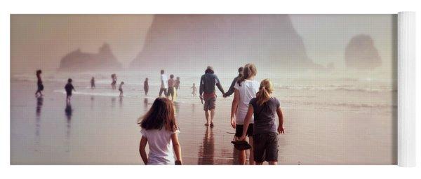 Summer At The Seashore  Yoga Mat