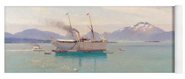 Summer Morning At Molde, 1892 Yoga Mat