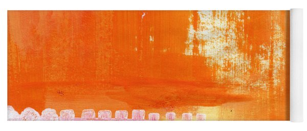 Summer Picnic- Colorful Abstract Art Yoga Mat