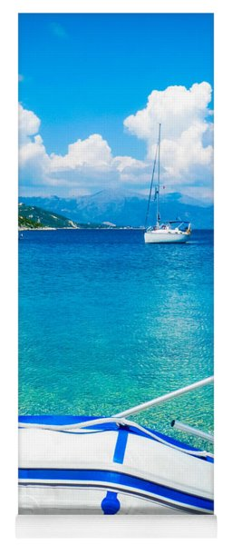 Summer Sailing In The Med Yoga Mat