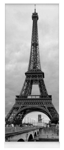 Summer Storm Over The Eiffel Tower Yoga Mat