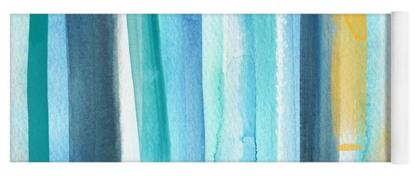 Summer Surf- Abstract Painting Yoga Mat