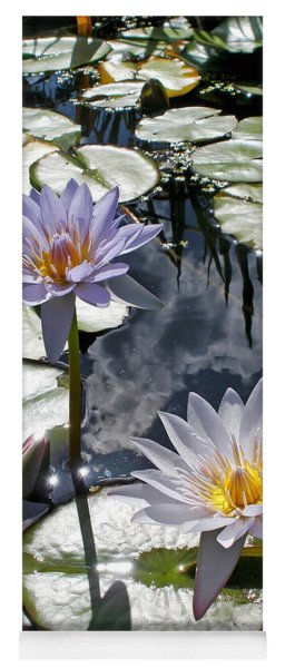 Sun-drenched Lily Pond         Yoga Mat