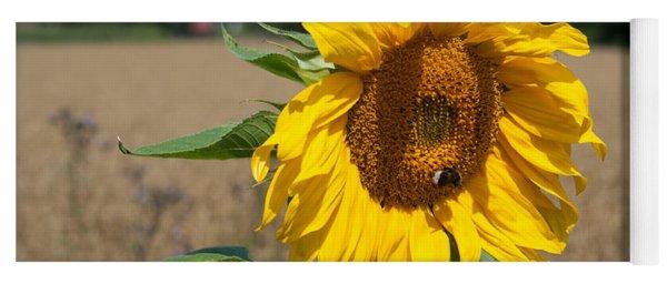 Sun Flower Fields Yoga Mat