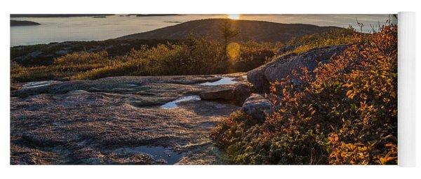 Sun Rise Shock Yoga Mat
