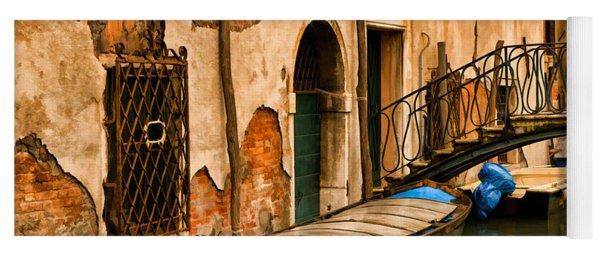 Sunday In Venice Yoga Mat