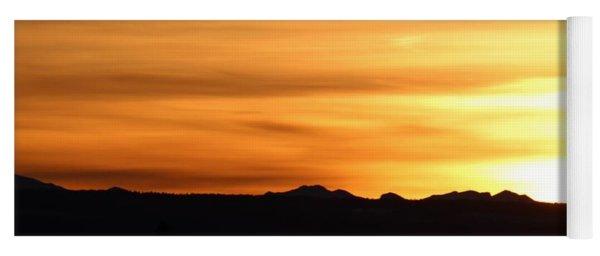 Sundre Sunset Yoga Mat