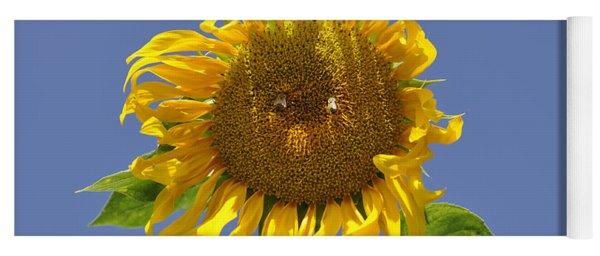 Sunflower At Latrun Yoga Mat