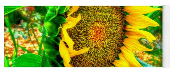 Sunflower Bloom Yoga Mat