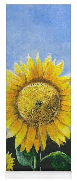 Sunflower Series One Yoga Mat