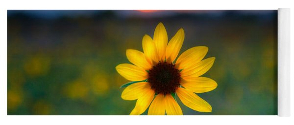 Sunflower Sunset Yoga Mat