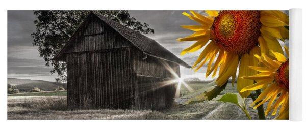 Sunflower Watch Yoga Mat