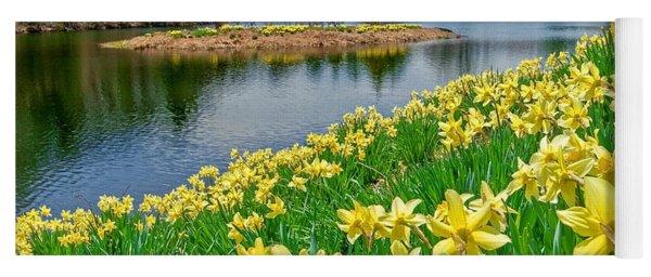 Sunny Daffodil Yoga Mat