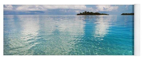 Sunny Invitation For  You. Maldives Yoga Mat