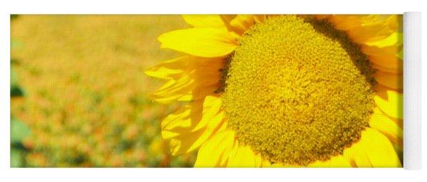 Sunny Sunflower Yoga Mat