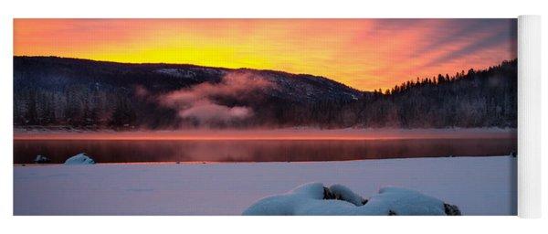Sunrise At Bass Lake Yoga Mat