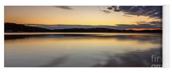 Sunrise On The Lake Yoga Mat