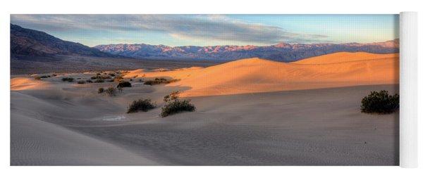 Sunrise Dunes Yoga Mat