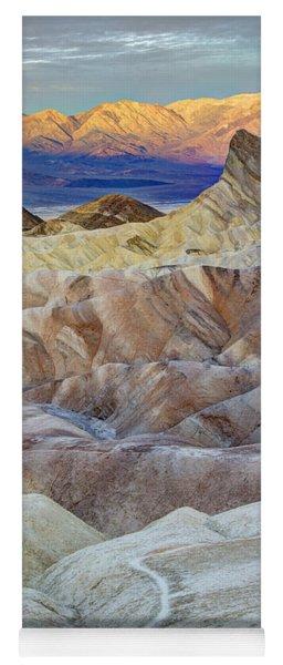 Sunrise In Death Valley Yoga Mat