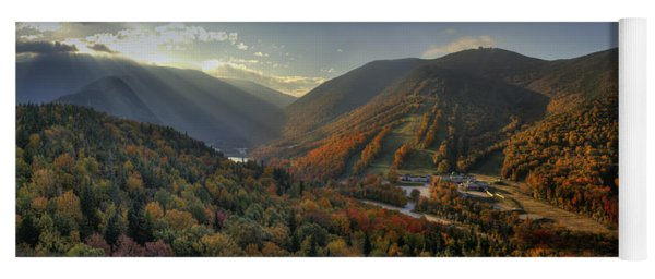 Sunrise In Franconia Notch Yoga Mat