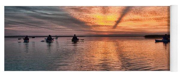 Sunrise Kayaking Yoga Mat