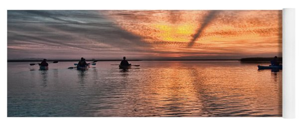 Sunrise Kayaking Yoga Mat
