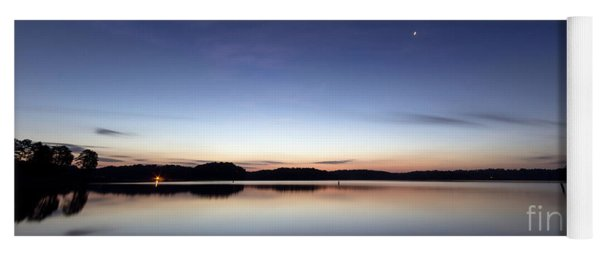 Sunrise On Lake Lanier Yoga Mat