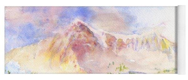 Sunrise On Mount Ogden Yoga Mat