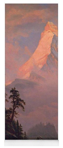 Sunrise On The Matterhorn Yoga Mat