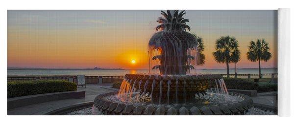 Sunrise Over Charleston Yoga Mat