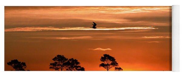 Sunrise Over Fenwick Island Yoga Mat