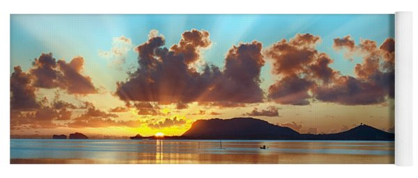 Sunrise Over Marine Corps Base Hawaii Yoga Mat