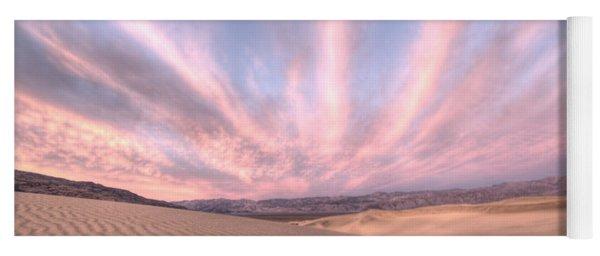 Sunrise Over Sand Dunes Yoga Mat