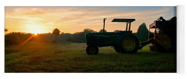Sunrise Tractor Yoga Mat