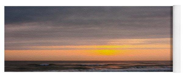 Sunrise Under The Clouds Yoga Mat
