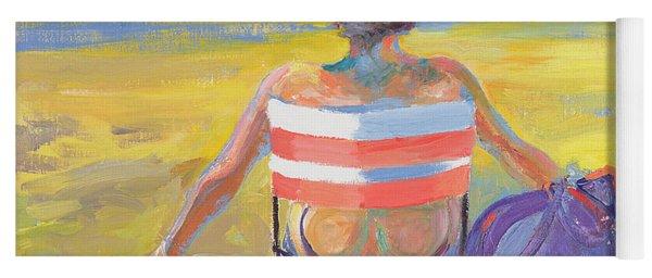 Sunseeker, 2005 Oil On Board Yoga Mat