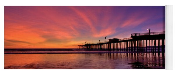 Sunset Afterglow Yoga Mat