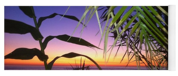 Sunset At Sano Onofre Yoga Mat