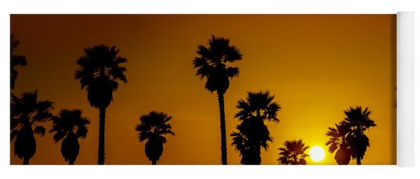 Sunset At The Beach Large Canvas Art, Canvas Print, Large Art, Large Wall Decor, Home Decor Yoga Mat