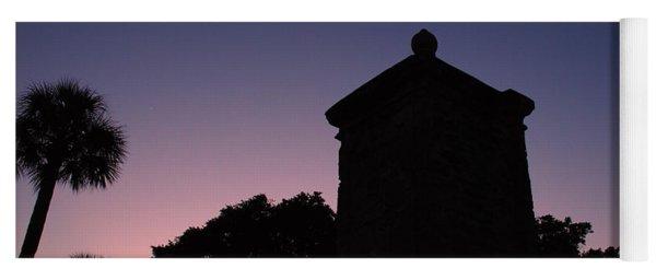 Sunset At The Gate Yoga Mat