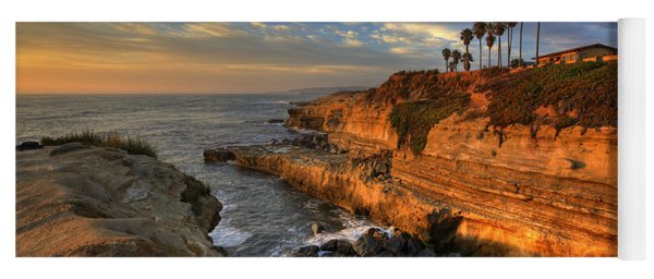 Sunset Cliffs Yoga Mat