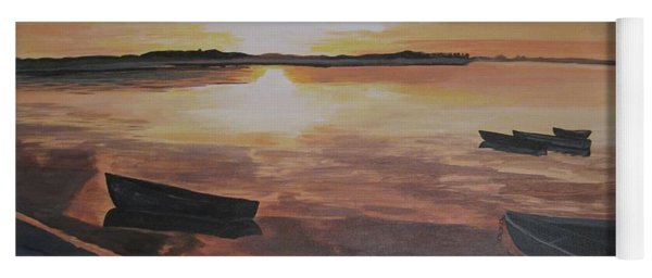 Sunset Evening Tide Yoga Mat