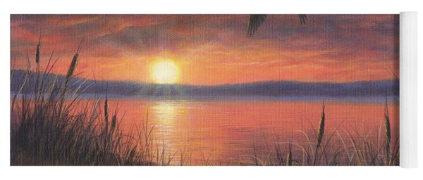 Sunset Flight Yoga Mat