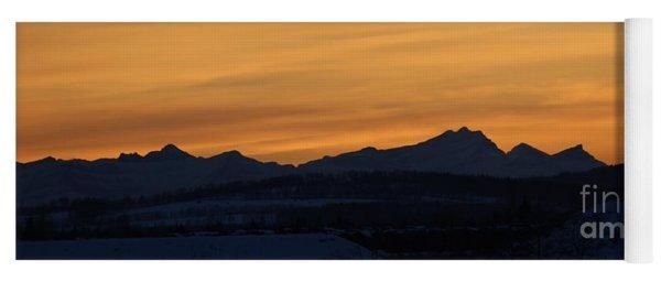 Sunset From 567 Yoga Mat