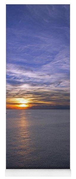 Sunset In Adriatic Yoga Mat