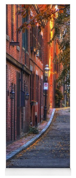Sunset In Beacon Hill Yoga Mat