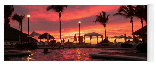 Sunset In Paradise Yoga Mat