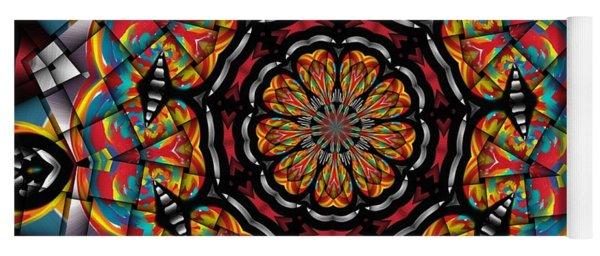 Sunset K 88 Kaleidoscope Yoga Mat