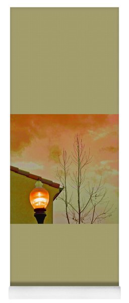 Sunset Lantern Yoga Mat